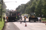 Paving of Parts of JFK Boulevard Has Begun