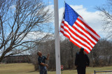 Rep. Holt Presents New U.S. Flag To Franklin Middle School