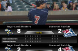 Patriots And Skeeters Split Double Header