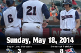 Patriots Top Skeeters 8-3
