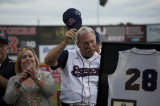 FR&A Pictorial: Somerset Patriots Retire Sparky Lyle's No. 28