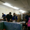 Nestle Waters Teams Up With Franklin Food Bank To Sort Donated Food