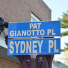 Sydney Place Honorarily Renamed For Pat Gianotto, Longtime Hamilton Street Advocate