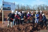 Groundbreaking Held For Claremont Road School