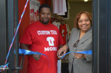 'Custom Tees And More' Opens Doors On Hamilton Street By Giving To Community