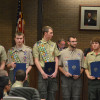 Eagle Scouts Receive Township Council Commendations