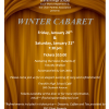 FHS Winter Cabaret Scholarship Fundraiser Set For Jan. 20, 21