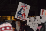 Franklin Residents Join Hundreds Rallying In Somerville Against Trump Immigration Ban, Border Wall