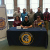 FHS Football Warrior Anderson Signs To Play For Lock Haven University