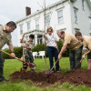 Arbor Day Celebrated At Hageman House With Tree Plantings