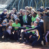 High School Softball Teams Play Tournament To 'Strike Out Cancer'