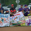 Franklin Township Baseball League Holds Delayed Season-Opening Ceremony