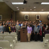 FHS Model UN Team, Franklin Youth Council Leader Honored By Township Council