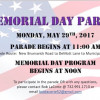 Memorial Day Parade Set For May 29