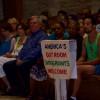 Hundreds Gather At St. Matthias For Vigil Against Hate