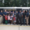 Danielsen, PBA Donate Backpacks To Hillcrest School 3rd Graders