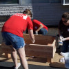 Nearly 100 Eli Lily Employees Help Spruce Up MacAfee Road School