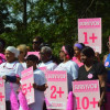 Photos & Video: 300 Run, Walk To Raise Awareness Of And Money To Fight Breast Cancer