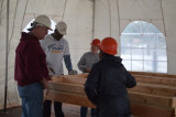 Habitat For Humanity Volunteers Bring 'Magic' To Township Family