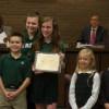 Environmental Commission Presents 'Environmental Stewardship' Awards