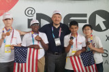CJCP Robotics Team Back Home with a Gold Medal!