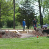 Performance Gazebo Construction Underway; Fund-Raising Concert Set For May 12