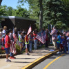 MacAfee Road School Celebrates Flag Day With Songs, Bagpipes And Lots Of Flags