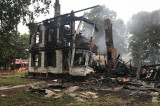 South Middlebush Road House Destroyed In Early Morning Fire