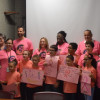 MacAfee Road School Students Deliver Good Wishes To Breast Cancer Patients