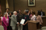 Township Council Recognizes Breast Cancer Awareness Month, Honors FTPD And Sister 2 Sister