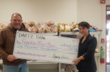 Franklin Food Bank Receives Donation From Unity Bank And Employees