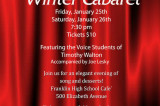 FHS Winter Cabaret Set For The Weekend