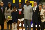 Franklin High School Celebrates All-American Diamond Miller At Jersey Ceremony