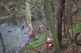 More Than 100 Turn Out To Clean Stream In Honor Of John Clyde