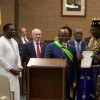 Township Council Celebrates Sierra Leone, Welcomes West African Mayor