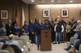 Township Council Honors FHS Lady Warriors Basketball Team For Perfect, Championship Season