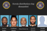Five Township Residents Arrested In 'Operation X Out;' Alleged Heroin Ring Busted