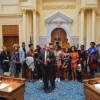 Lady Warrior Basketball Team Honored By State Assembly For Historic Season