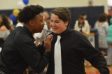 In Peek To The Future, Franklin Middle School Promotion Ceremony Held At FHS