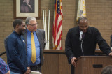 Schools Superintendent, FHS Boy's Track Team, Honored By Township Council