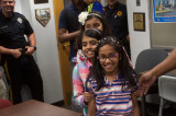FTPD, PBA 154 Thank 3rd Grader For Donation With Surprise Party