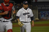 Teasley Perfect For Patriots, But Ducks Win In Extras