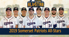 Eight Somerset Patriots Named Atlantic League All-Stars