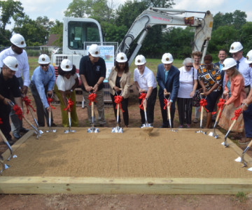 Milestone Achieved With Youth Center Groundbreaking