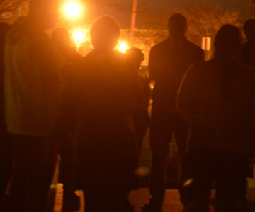 Prayer Vigil Held For Critically Injured Hillcrest School Student