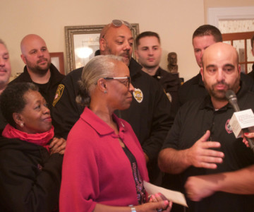 FTPD PBA 154's 'Pink Patch Project' Nets $2,500 For Sister 2 Sister Charity
