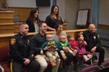 FTPD Makes 'Hero Isla' Honorary Junior Officer