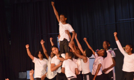 Franklin Middle School – SGS Campus Celebrates Black History Month With Cultural Program
