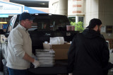 FTPD PBA No. 154 Collects And Donates Food To Area Hospitals