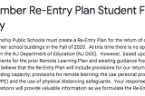 District Devising Plan For Anticipated School Capacity Restrictions In Fall
